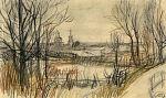 А.А. Пластов. Ноябрь. 1938