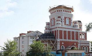 Новоульяновск. Строящийся храм