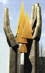 Проект памятника жертвам Чернобыльской катастрофы