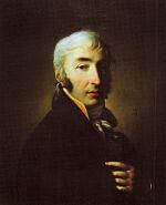 Д.Б. Дамон Ортолани. Портрет Н.М. Карамзина. 1805