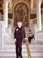 Елена Куракова в Библиотеке Конгресса