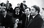 Николай Благов (справа) и Станислав Романовский. Москва. 1970-е