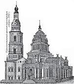 Нереализованный проект перестройки собора. 1883 г.