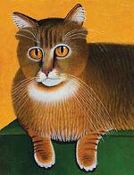 Сибирский трехцветный кот, 1993