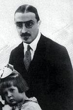 Алексей Алексеевич Татищев (1885–1947) с дочерью Машей